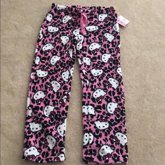 """NEW WITH TAGS WOMEN/'S//JUNIORS PAJAMA PANTS WITH MATCHING BAG /""""SIZE MEDIUM/"""" BY SO"""